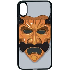 Mask India South Culture Iphone X Seamless Case (black)