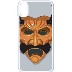 Mask India South Culture Iphone Xs Seamless Case (white)