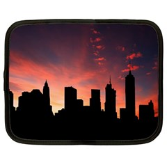 Skyline Panoramic City Architecture Netbook Case (large)