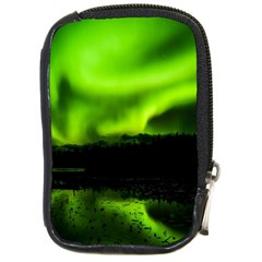 Aurora Borealis Northern Lights Sky Compact Camera Leather Case