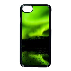 Aurora Borealis Northern Lights Sky Iphone 7 Seamless Case (black) by Sudhe