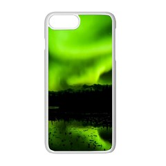 Aurora Borealis Northern Lights Sky Iphone 8 Plus Seamless Case (white)