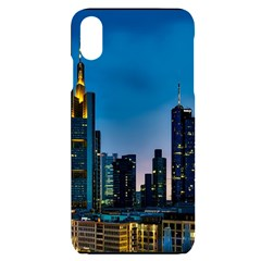 Frankfurt Germany Panorama City Iphone Xs Max Black Frosting Case