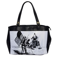 Apollo Moon Landing Nasa Usa Oversize Office Handbag