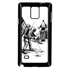 Apollo Moon Landing Nasa Usa Samsung Galaxy Note 4 Case (black)