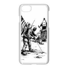 Apollo Moon Landing Nasa Usa Iphone 8 Seamless Case (white) by Sudhe