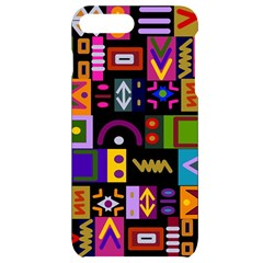 Abstract A Colorful Modern Illustration Iphone 7/8 Plus Black Frosting Case