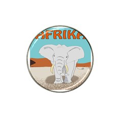 Africa Elephant Animals Animal Hat Clip Ball Marker (10 Pack)