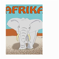 Africa Elephant Animals Animal Small Garden Flag (two Sides)