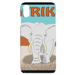 Africa Elephant Animals Animal Iphone Xs Max Black Frosting Case