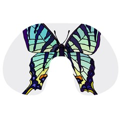 A Colorful Butterfly Travel Neck Pillows