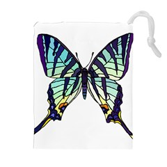 A Colorful Butterfly Drawstring Pouch (xl)