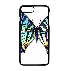 A Colorful Butterfly Iphone 7 Plus Seamless Case (black)