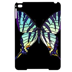 A Colorful Butterfly Apple Ipad Mini 4 Black Frosting Case