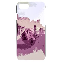 Abstract Painting Edinburgh Capital Of Scotland Iphone 7/8 Black Frosting Case by Sudhe