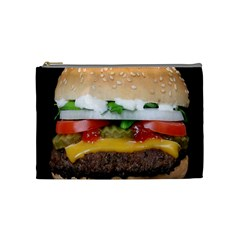 Abstract Barbeque Bbq Beauty Beef Cosmetic Bag (medium)