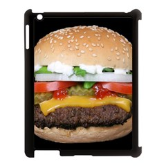 Abstract Barbeque Bbq Beauty Beef Apple Ipad 3/4 Case (black)