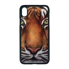 The Tiger Face Iphone Xr Seamless Case (black) by Sudhe