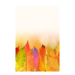 Autumn Leaves Colorful Fall Foliage Shower Curtain 48  X 72  (small)