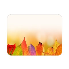 Autumn Leaves Colorful Fall Foliage Double Sided Flano Blanket (mini)  by Sudhe