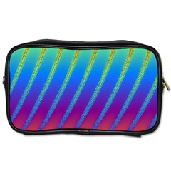 Abstract Fractal Multicolored Background Toiletries Bag (two Sides)