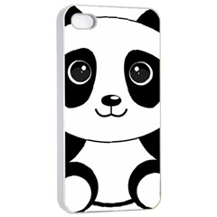 Bear Panda Bear Panda Animals Iphone 4/4s Seamless Case (white) by Sudhe