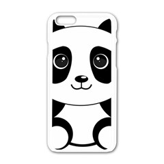 Bear Panda Bear Panda Animals Iphone 6/6s White Enamel Case