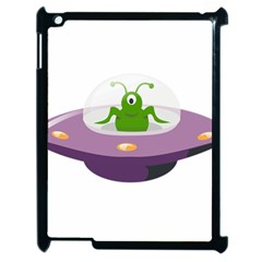 Ufo Apple Ipad 2 Case (black)