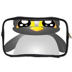 Cute Penguin Animal Toiletries Bag (two Sides)