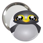 Cute Penguin Animal 3  Handbag Mirrors Front