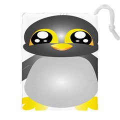 Cute Penguin Animal Drawstring Pouch (xxl)