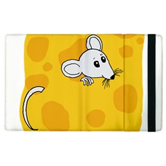 Rat Mouse Cheese Animal Mammal Apple Ipad 2 Flip Case by Sudhe