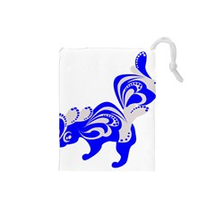 Skunk Animal Still From Drawstring Pouch (small)