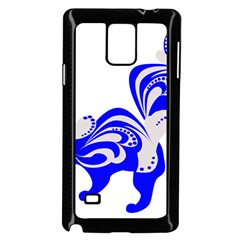 Skunk Animal Still From Samsung Galaxy Note 4 Case (black)