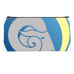 Ram Zodiac Sign Zodiac Moon Star Pencil Cases