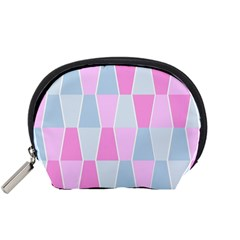 Geometric Pattern Design Pastels Accessory Pouch (small)