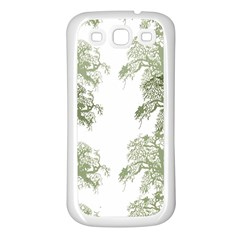 Trees Tile Horizonal Samsung Galaxy S3 Back Case (white)