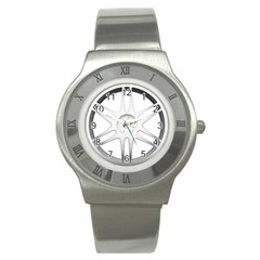 Wheel Skin Cover Stainless Steel Watch by Sudhe
