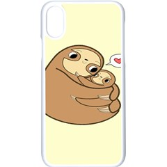 Sloth Iphone Xs Seamless Case (white)