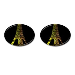 The Eiffel Tower Paris Cufflinks (oval) by Sudhe