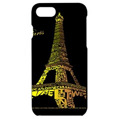 The Eiffel Tower Paris Iphone 7/8 Black Frosting Case