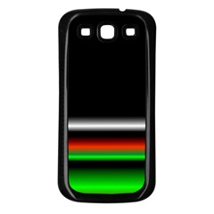 Colorful Neon Background Images Samsung Galaxy S3 Back Case (black)