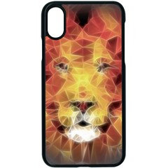 Fractal Lion Iphone Xs Seamless Case (black)