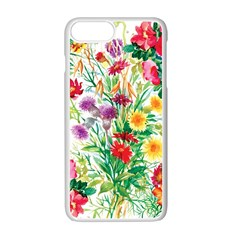 Painting Flowers Iphone 7 Plus Seamless Case (white) by goljakoff