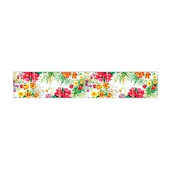 Summer Flowers Flano Scarf (mini) by goljakoff