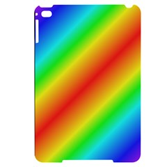 Background Diagonal Refraction Apple Ipad Mini 4 Black Frosting Case