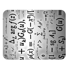 Science Formulas Double Sided Flano Blanket (large)