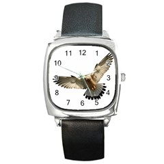 Eagle Square Metal Watch