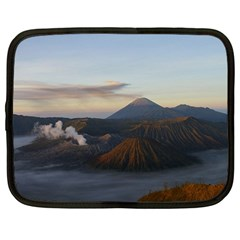 Sunrise Mount Bromo Tengger Semeru National Park  Indonesia Netbook Case (large)