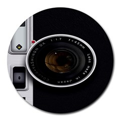 Vintage Camera Round Mousepads